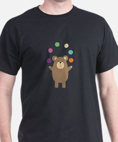 Brown Bear juggling T-Shirt