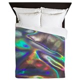 Holographic Luxe Full/Queen Duvet Cover