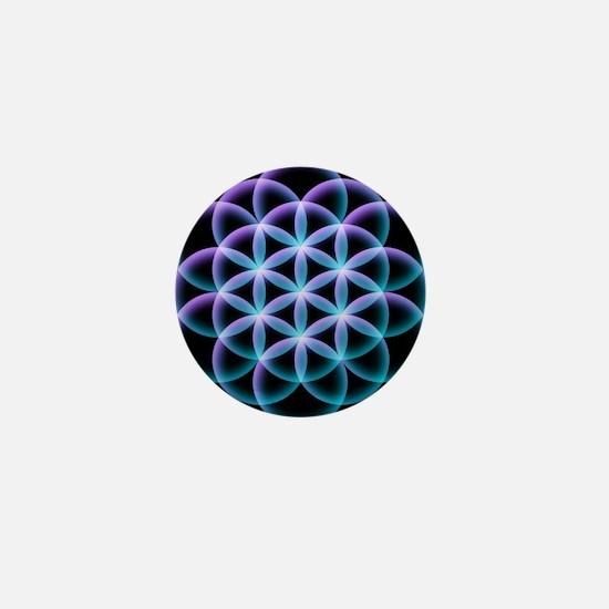 Flower of Life Mandala Mini Button (100 pack)
