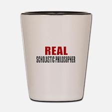 Real Scholastic philosopher Shot Glass