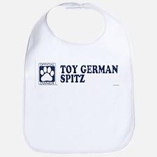 TOY GERMAN SPITZ Bib