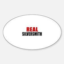 Real Silversmith Sticker (Oval)