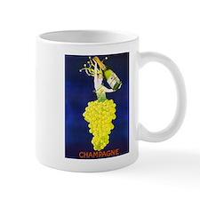 Vintage Champagne Wine Poster Mug