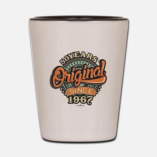 Funny 1967 Shot Glass