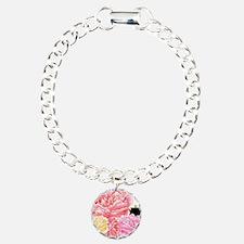 Trendy Girly Flowers and Bracelet