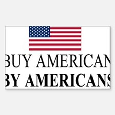 buy American by American Bumper Stickers