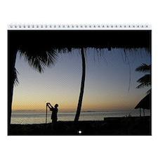 Fiji Wall Calendar