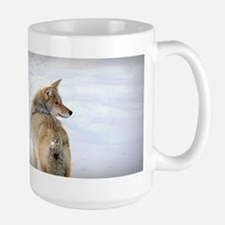 Coyote Large Coffee Mug Mugs