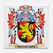Matheson Coat of Arms - Family Crest Tile Coaster