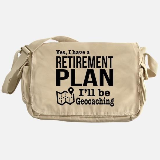 Cute Geocaching Messenger Bag
