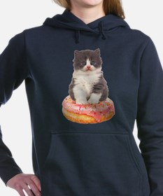 Kitten on a Donut Sweatshirt