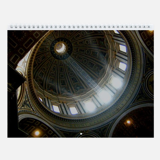 Churches, Cathedrals, & Basilicas Wall Calendar