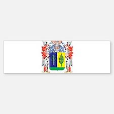 Matthias Coat of Arms - Family Cres Bumper Bumper Bumper Sticker