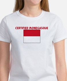 CERTIFIED MONEGASQUE Tee