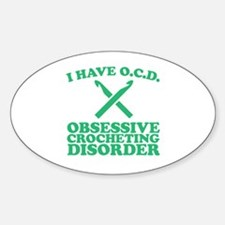 Funny Jerseys Sticker (Oval)