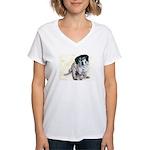 Bessie Women's V-Neck T-Shirt