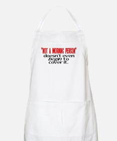 Morning Person BBQ Apron