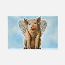 I Believe Flying Pig Magnets