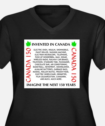 Invented In Canada Plus Size T-Shirt