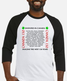 Invented In Canada Baseball Jersey