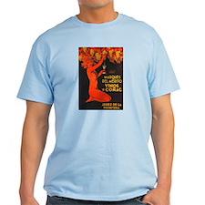 Vintage Cognac Wine Poster T-Shirt