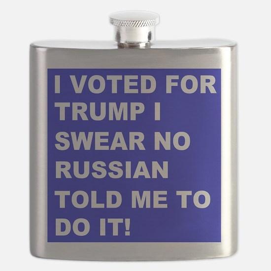 Trump I Swear Flask