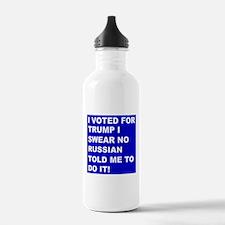 Trump I Swear Water Bottle
