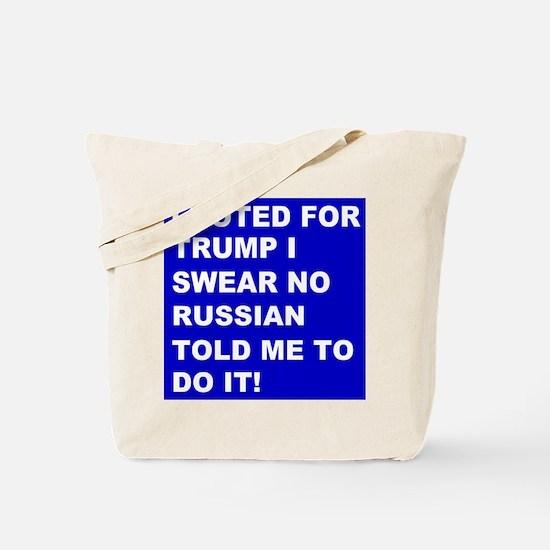Trump I Swear Tote Bag