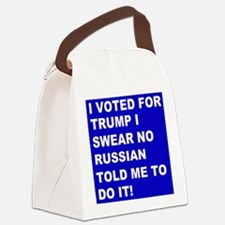 Trump I Swear Canvas Lunch Bag