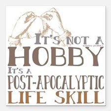 """Funny Craft Its not a ho Square Car Magnet 3"""" x 3"""""""