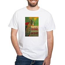Vintage Cognac Wine Poster Shirt