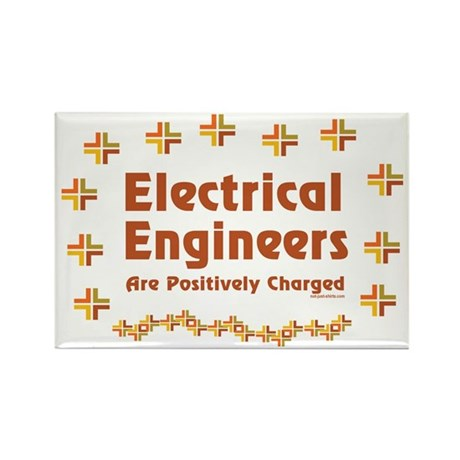 Positively Charged Rectangle Magnet