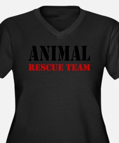 Animal Rescue Team Plus Size T-Shirt