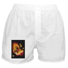 Vintage Spanish Wine Poster Boxer Shorts