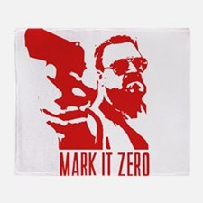 Mark it Zero Throw Blanket