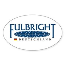 Fulbright Oval Decal