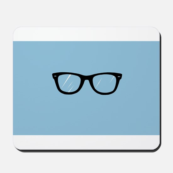 Adorkable Glasses Mousepad