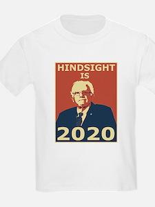 bernie sanders hindsight is 2020 T-Shirt