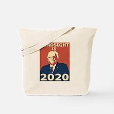 bernie sanders hindsight is 2020 Tote Bag