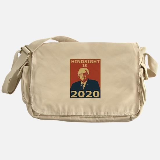 bernie sanders hindsight is 2020 Messenger Bag