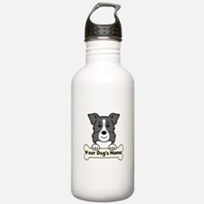 Personalized Border Co Water Bottle