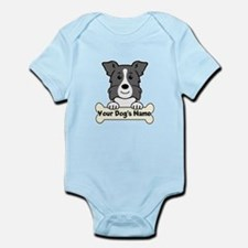 Personalized Border Collie Infant Bodysuit