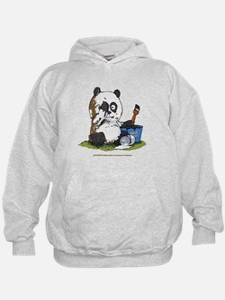 Vintage_panda_01 Sweatshirt