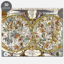 Vintage Constellations Map Puzzle