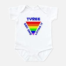 Tyree Gay Pride (#005) Infant Bodysuit