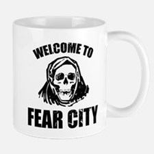 Welcome to Fear City Mugs