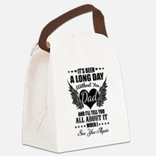 Funny Dad Canvas Lunch Bag