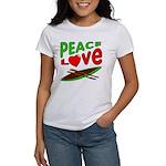 Peace Love Canoe Women's T-Shirt