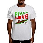 Peace Love Canoe Light T-Shirt