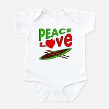 Peace Love Canoe Infant Bodysuit